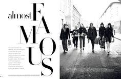Editorial design JAN Magazine 10-2009 fashion