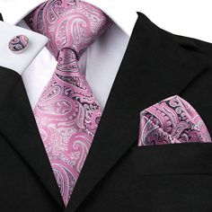 20 Style Silk Neck Tie Set Paisley Mens Ties Pocket Square and Cufflinks for Mens Wedding Business Suits Fashion Corbatas Paisley Color, Paisley Tie, Suit Fashion, Mens Fashion, Style Fashion, Extra Long Ties, Cufflink Set, Wedding Ties, Ties