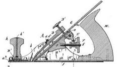 U.S. Patent: 510,096. Bench-Plane. Plane with a Lugged Sole. Applied: May 21, 1892. Granted: Dec. 05, 1893.
