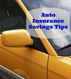 Auto Insurance Savings Tips - These easy tips can help you save a lot on your car insurance! Thrifty Jinxy