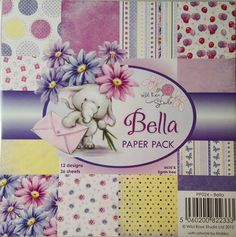 6 x 6  Paper Pad    Bella Paper Pack     by CynthiasCraftingNook