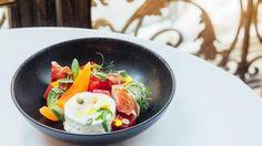 Пармская ветчина с творожным муссом, арбузным желе, дыней и тайским сиропом. Пошаговый рецепт с фото на Gastronom.ru