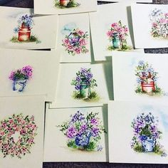 So many tutorials coming!! Seriously... I LOVE watercolor. It's a bit of an…