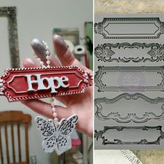 Handmade ornaments is just one of the ways you can use IOD Decor Moulds.