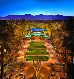 Hyatt Regency Scottsdale Resort and Spa at Gainey Ranch - LOVE this place! When do we go back?