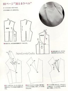PATTERN MAGIC VOL.2 BY TOMOKO NAKAMICHI JAPANESE SEWING BOOK FOR DRAPE 21 by JapanLovelyCrafts, via Flickr
