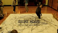 Segni mossi, laboratorio di danza-disegno 3