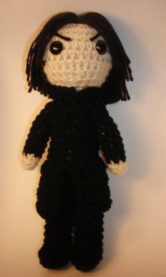 Snape Amigurumi by Padfoot @craftster.org