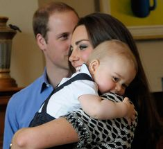 Even Prince George Is Obsessed With Kate Middleton's Hair