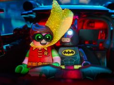 Batman and Robin in The Lego Batman Movie