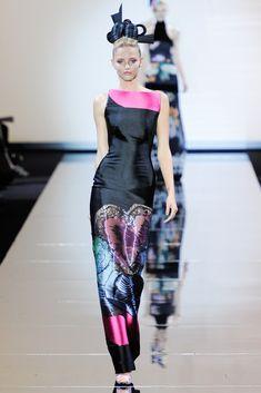 Armani Privé Fall 2011 Couture Fashion Show - Michaela Kocianova (Elite)