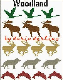 Here are 5 charts or graphs a flying goose, a moose, a leaping fish, a wolf and a running deer with antlers. suitable for a wide variety of techniques. These are small charts, most are or around that size. Great motifs for cabin decor Buck Deer, Deer Antlers, Knitting Charts, Baby Knitting, Filet Crochet, Knit Crochet, Flying Geese, Free Baby Stuff, Woodland Animals