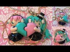 Polymer Clay: Diamond Heart Friendship Charms | HeyItsViri - YouTube