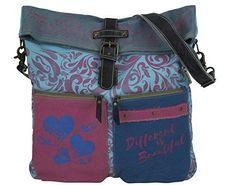 520fa0dca17b48 Sunsa Canvas Umhängetasche große Damen Schultertasche Crossbody Tasche |  Schultertasche | Umhängetasche | Frauentasche | Stofftasche | Bunte Tasche  | ...