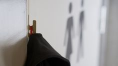 HOOK - credit card-sized pocket door hook by bjorn bye - designboom