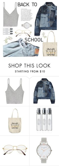 """""""Back to school"""" by sandralalala ❤ liked on Polyvore featuring Dolce&Gabbana, Byredo and Olivia Burton"""