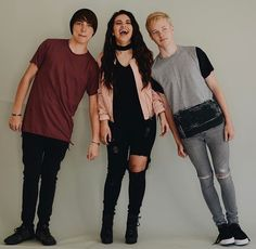 Sam , Colby and Kat