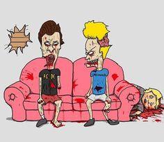 zombie Beavis & Butthead!!