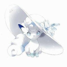 Alolan Vulpix from Sun and Moon Anime Ninetales Pokemon, Alolan Vulpix, Gif Pokemon, Pokemon Images, Pokemon Fan Art, Pokemon Pictures, Pokemon Sun, Pokemon Tattoo, Dragonair