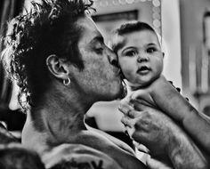 Chris and his daughter, Toni