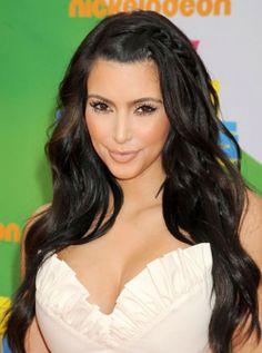 Kim Kardashian Hairstyles of all times
