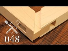 Joint Venture Ep. 48: Through mortise and tenon with mitered faces (Japanese Joinery) - YouTube