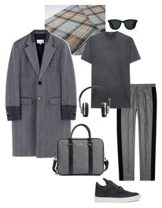 """""""Без названия #9"""" by brbymn on Polyvore featuring Maison Margiela, Alexander McQueen, Filling Pieces, Dsquared2, Master & Dynamic, Barton Perreira, Ted Baker, men's fashion и menswear"""