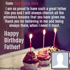 It's your Father birthday, celebrate his birthday by sending him a beautiful birthday image with your name, Get a lot of birthday message for father and enjoy! Happy Birthday Wishes Dad, Father Birthday Quotes, Birthday Message For Father, Fathers Day Messages, Boyfriend Birthday Quotes, Birthday Wishes Flowers, Happy Father Day Quotes, Happy Birthday Quotes For Friends, Birthday Wishes Quotes