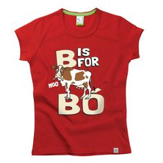 B is for Bo Kids Alphabet T-Shirt by Hairy Baby Alphabet For Kids, Irish, Tees, Baby, T Shirt, Clothes, Women, Supreme T Shirt, Outfits