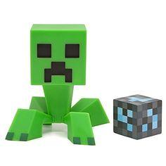 Minecraft Creeper Vinyl Figurine Geek Rétro (15 cm) Minecraft http://www.amazon.fr/dp/B00M1W0VV8/ref=cm_sw_r_pi_dp_vsGavb122MVK5