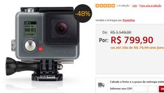 GoPro Hero Plus CHDHC-101-LA 8MP Wi-Fi Bluetooth e Vídeo 4K << R$ 79900 em 10 vezes >>