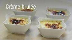Crème brûlée au micro-onde