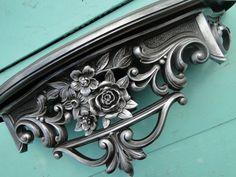 Wall Shelf ornate baroque Hollywood regency Paris by TRWpainted