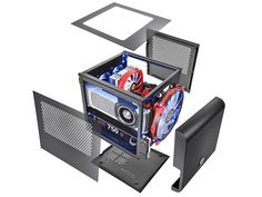 Gabinete Thermaltake Core V1 - Mini ITX