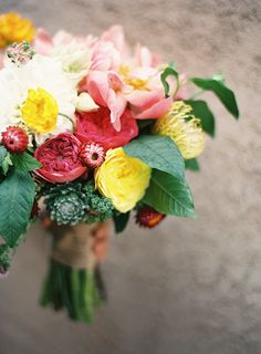 Bouquet by Sweet Marie Designs, photo by Ashley Kelemen