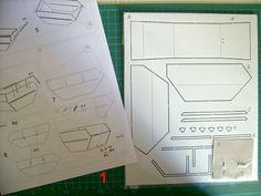 Polystyrol Modell Bausatz Absetzcontainer Absetzmulde 1/32 CNC gefräst Spur1 (9)