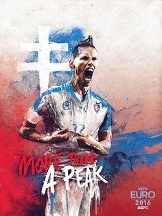 Euro 2016 : Hamsik, la crête slovaque