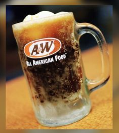 A&w Root Beer Float, A&w Restaurants, Hotdog Sandwich, All American Food, Buy Beer, I Remember When, Oldies But Goodies, My Childhood Memories, The Good Old Days