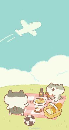 Cute Pastel Wallpaper, Soft Wallpaper, Cute Wallpaper For Phone, Anime Scenery Wallpaper, Bear Wallpaper, Cute Patterns Wallpaper, Cute Anime Wallpaper, Cute Simple Wallpapers, Cute Wallpaper Backgrounds