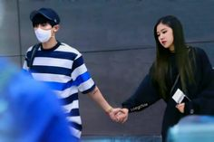 Kpop Couples, Cute Couples, Park Chanyeol, Suho, Becky G Outfits, Iu Hair, Mom Milk, Young Park, Exo Couple