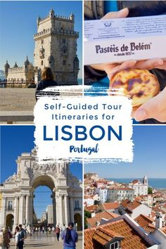 The best things to see, do, and eat in Lisbon, Portugal on a budget - a budget guide to one of the best Europe travel destinations, including free access to our self guided walking tour map and 3 day Lisbon itinerary
