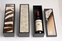 Animal skin wine boxes | Giftware | ASHANTI Wine Boxes, Wine Rack, Animal, Home Decor, Bottle Rack, Decoration Home, Room Decor, Wine Crates, Animaux