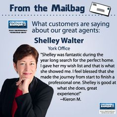 Great review for Shelley Walter!