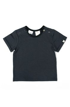 KARDASHIAN KIDS Faux Leather Trim T-Shirt (Baby Boys) available at #Nordstrom