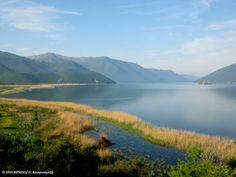 The Great Prespa Lake West Macedonia Lake Hotel, In Natura, Snowy Mountains, Macedonia, Natural Beauty, National Parks, Rivers, Lakes, Greece