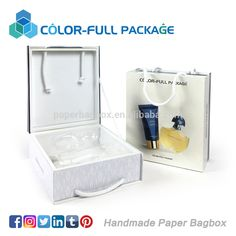 Luxury branded Square empty cosmetic packaging paper box