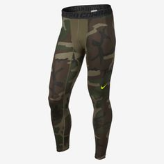 Nike Pro Combat Core Compression Camo Men's Tights