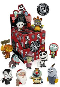 Funko Mystery Mini - Nightmare before Christmas Series 2 Display Case (Pre-Order)