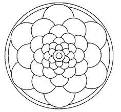 Dibujo de Mandala 22
