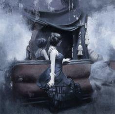 Jeremy Mann Study - Lament #JeremyMann #Art #Artwork